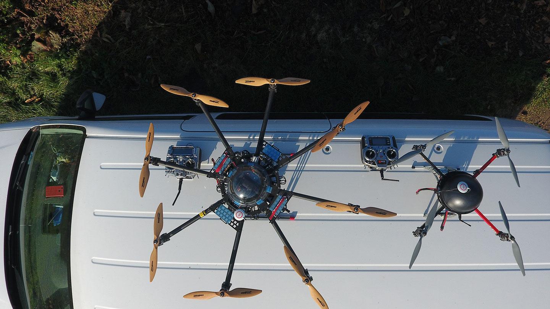 usługi dronem pszczyna