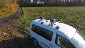 Dron, Filmowanie / zdjęcia, pszczyna