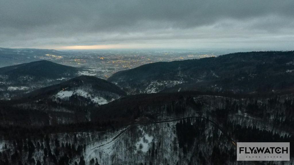 Zdjęcie dnia - Bielsko Biała widziana z Przegibka