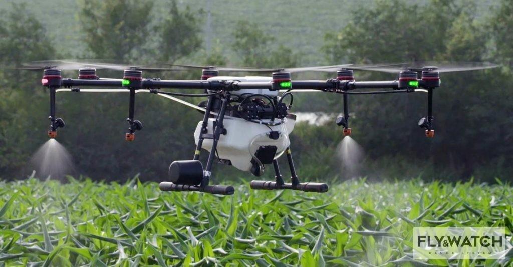 Dron w rolnictwie DJI przedstawił MG-1S ciężki dron rolniczy