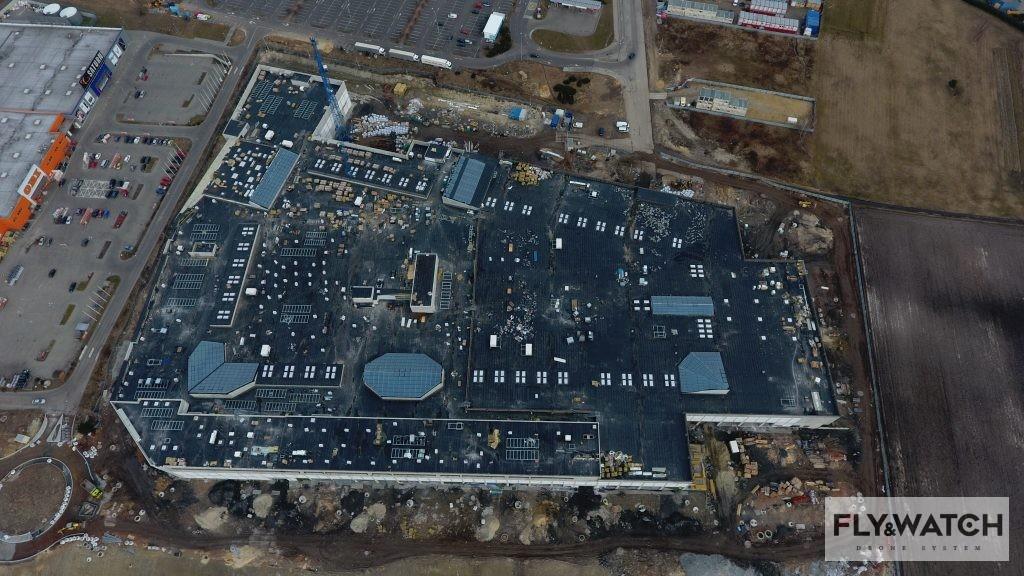 Centrum handlowe Gemini 2 Tychy - rekonesans z powietrza