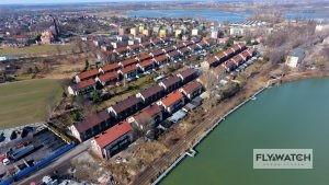 Familoki Czechowice - widok z drona - usługi