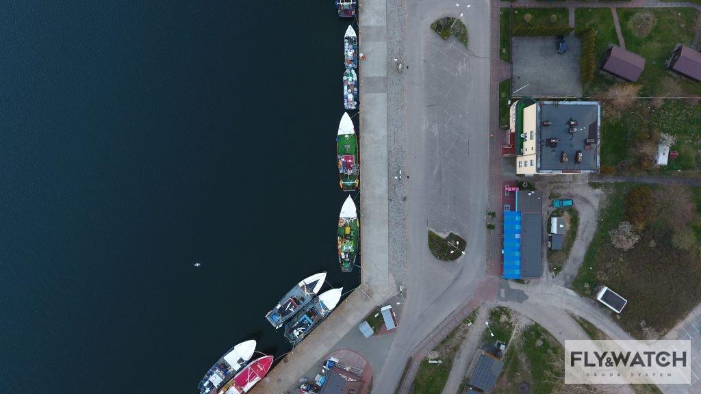 Fly&Watch fotografia dronem. Jastarnia Port Rybacki