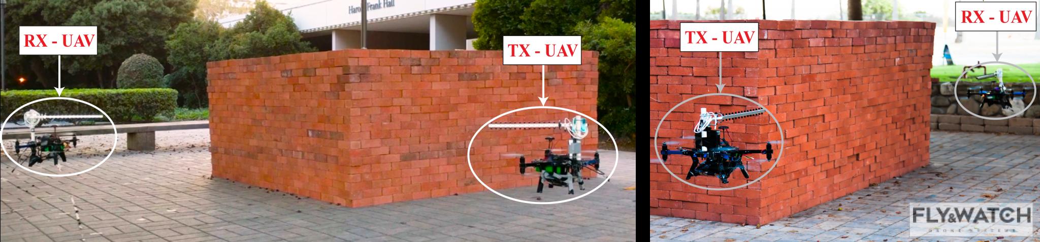 Z pomocą dronów i Wi-Fi można zobrazować budynki oraz ich wnętrze w 3D