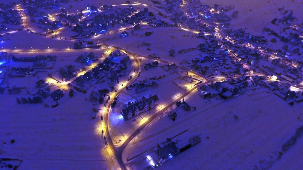 Fotografia lotnicza przy użyciu drona