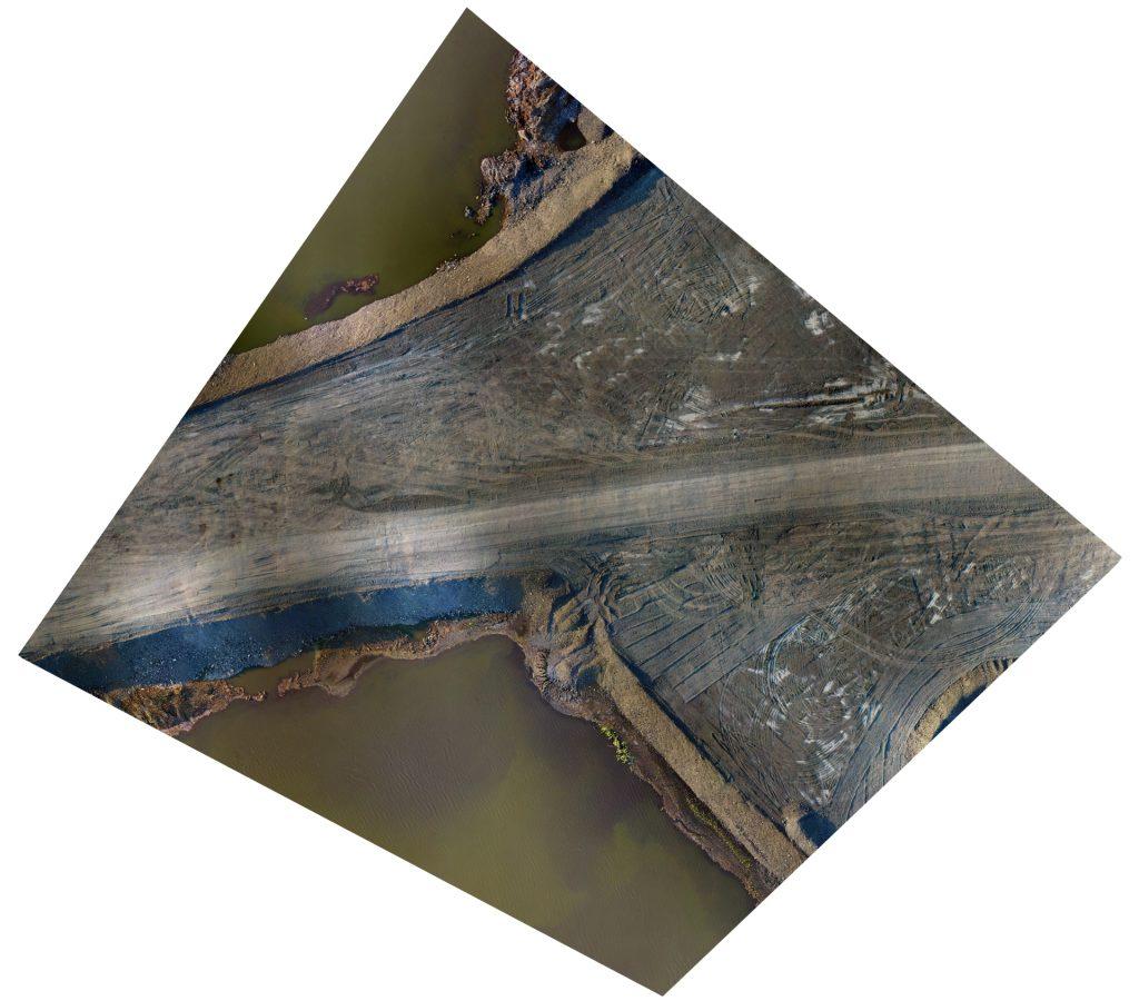 Ortofotomapa, ortofotomapy z drona