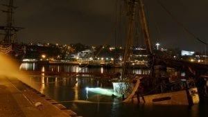 Jacht KNUDEL podnoszenie/wydobycie zatopionej jednostki - Uxo Marine