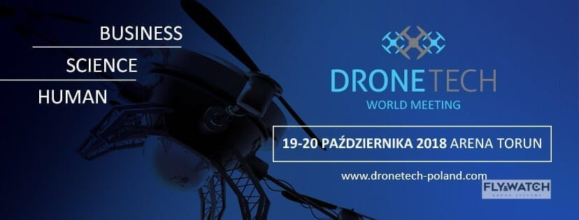 Fly&Watch naDroneTech World Meeting 2018