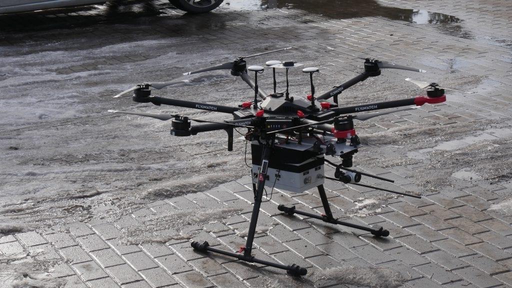 Smog - badanie jakości powietrza, zanieczyszczeń dronem - system FAT - FlyAirTest