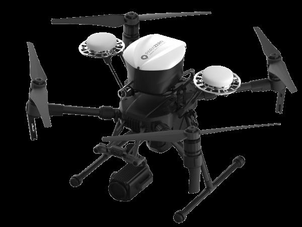 Nasze drony mogą zostać wyposażone wspadochrony