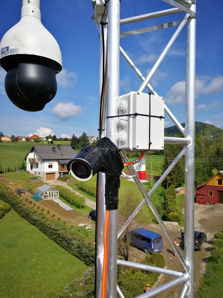 Monitorowanie procesu powstawania budowli lądowych