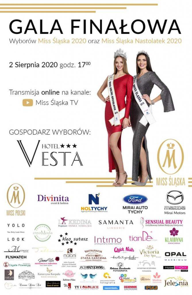 Plakat promujący Wybory Miss Śląska 2020. Źródło: https://www.facebook.com/MissSlaska/